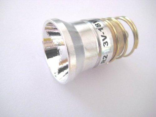 Cree Led Bulb R2 3.7-18V 300 Lumens for Surefire Flashlight Torch C2 G2 Z2 P60 P61 6P 9P G3 S3 D2