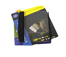 Catchin24 LED Night Book Reading Light Panel Paperback