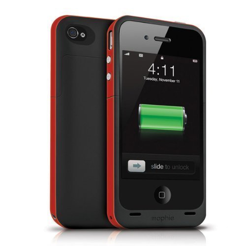 日本正規代理店品mophie juice pack plus for iPhone 4S/4 - (PRODUCT) RED プロダクト レッド MOP-PH-000021