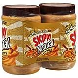 Skippy Natural Creamy Peanut Butter - 2/40oz