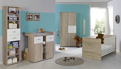 babyzimmer komplettset kinderzimmer komplett set elisa 2. Black Bedroom Furniture Sets. Home Design Ideas