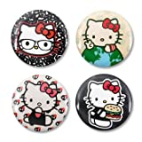 Hello Kitty Button/Pin Set