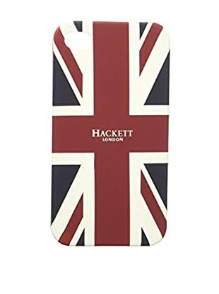 Hackett London Carcasa Móvil Union J Phone4 Case (Azul Oscuro / Rojo)