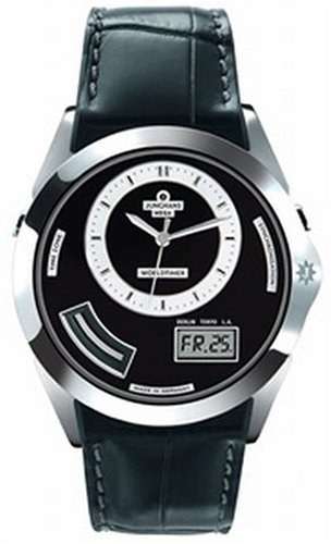JUNGHANS (ユンハンス) 腕時計 AVANGARDE WORLDTIMER 056/4501.00 [正規輸入品]