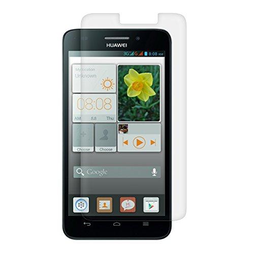 kwmobile® Displayschutzfolie MATT und ENTSPIEGELND mit Anti-Fingerabdruckeffekt für Huawei Ascend G620s - PREMIUMQUALITÄT