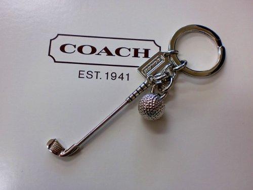 [コーチ] COACH アクセサリー(キーホルダー) F93063 シルバー シルバー ゴルフ クラブ キーリング メンズレディース [アウトレット品] [ブランド] [並行輸入品]