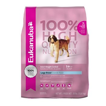 Eukanuba Large Breed Weight Control Dog Food - 30 Pounds