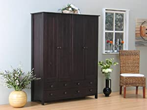 4trg kleiderschrank scala kiefer kolonial. Black Bedroom Furniture Sets. Home Design Ideas