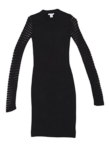 Bar III Long-Sleeve Body-Con Sweater Dress Size XS