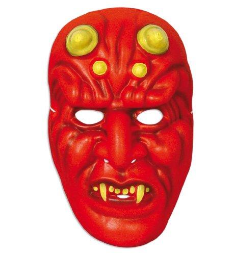 FASCHING 60260 Horror-Maske Teufel Halloween NEU/OVP