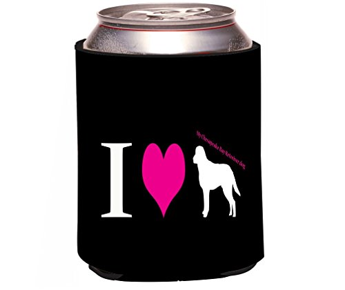 Rikki Knight I Love My Chesapeake Bay Retriever Dog Design Beer Can/Soda Drinks Cooler Koozie ncaa central florida knights aztec can koozie set of 4