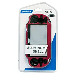 Hyperkin Aluminum Case For Ps Vita (Red)