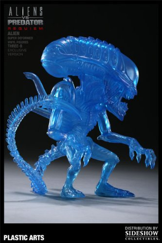 Picture of Plastic Arts Alien Super Deformed Vinyl Figures - Three-B - Aliens VS Predator: Requiem- Exclusive Version (B0033C5E7Q) (Plastic Arts Action Figures)