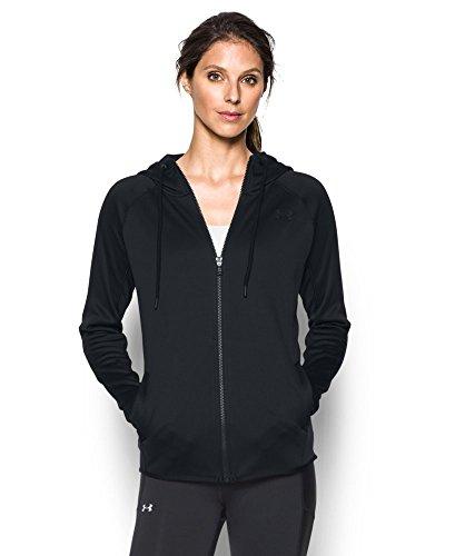 Under Armour Women's Storm Armour Fleece Lightweight Full Zip Hoodie, Black (001), Small (Lightweight Black Hood compare prices)