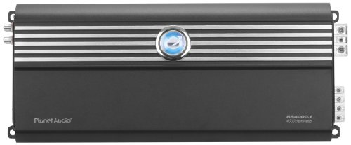 Planet Audio Bb4000.1 Big Bang 3 4000-Watts Monoblock Class D 1 Channel 1 Ohm Stable Amplifier