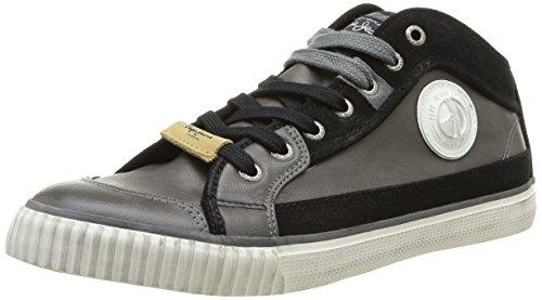 Pepe Jeans Industry Pu, Herren Sneaker, Grau (Gris (975 Dark Grey)), 44 EU