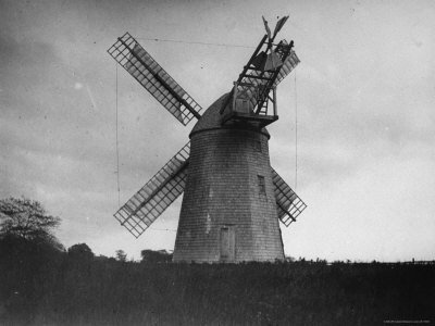 Windmill Near Bridgehampton, Long Island