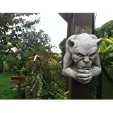 The Old Country Farmhouse Home & Garden Stone Gargoyle Wall Plaque - Bespoke Stone Detailed Ornaments