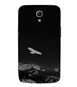 PrintVisa Bird Flying Design 3D Hard Polycarbonate Designer Back Case Cover for Samsung Galaxy Mega 6.3