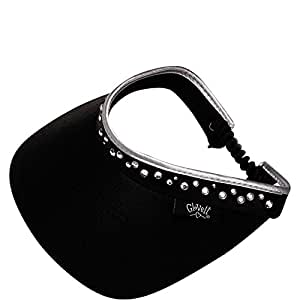 Glove It Women's Bling Visor (Black)