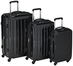 hauptstadtkoffer sets de bagages hk 32442629 t313233 noir 300 liters bagages. Black Bedroom Furniture Sets. Home Design Ideas