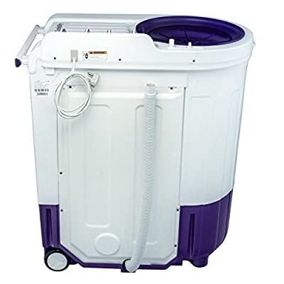 Whirlpool Ace 7.0 Turbo Dry Semi-automatic Top-loading Washing Machine (7.0 kg, Floral Purple)