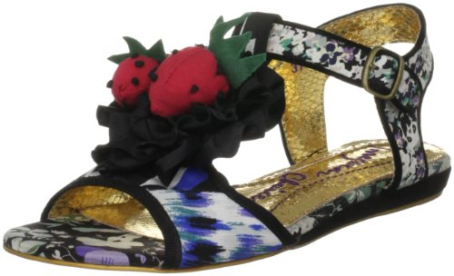 Irregular Choice Women's Oh Matron Black Multicolor Ankle Strap 4001-4B 3.5 UK, 36 EU