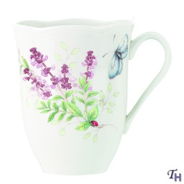 Lenox Butterfly Meadow Herbs Coffee Mugs