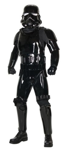 Supreme Edition Black Shadow Trooper Costume - Standard - Chest Size 40-44