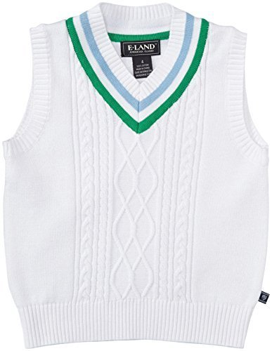 E-Land Kids Tilden Vest (Toddler/Kid) - Parrot Green-4T by E-Land Kids