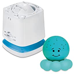 Munchkin Nursery Projector & Sound System with Cloud B Twinkles Night Light - Blue