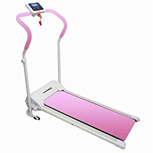 Buy Confidence Power Plus Motorized Fitness Treadmill Pink by Confidence