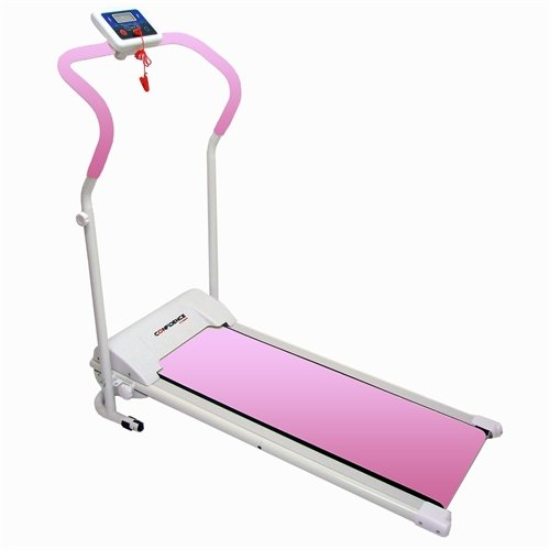 Confidence-Power-Plus-Motorized-Fitness-Treadmill-Pink