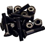 "Independent Genuine Parts 1"" Pk/8 Allen Hardware Black - Single Set"