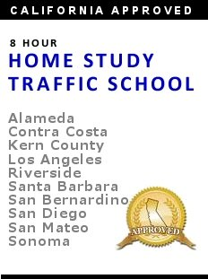 Home Study Traffic School Course: California