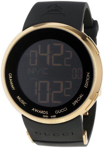 Gucci Men's YA114215 I-Gucci Digital GRAMMY Special Edition Black Watch
