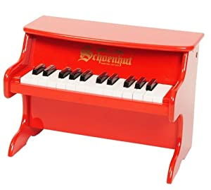 Schoenhut 25-Key My First Piano II, Red from Schoenhut Piano Co. Inc.