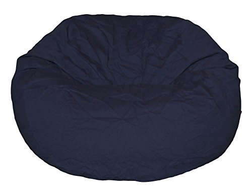 Ahh Products Navy Organic Cotton Large Bean Bag Chair   Kirsten W