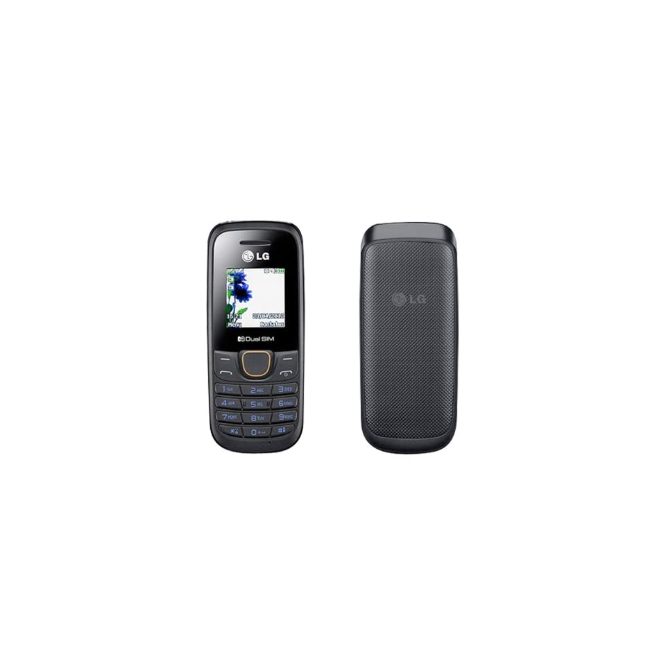 LG A275 Black Unlocked GSM Dual SIM QuadBand Cell Phone Cell Phones & Accessories