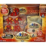 Gormiti Adventure Starter LAVA Set with BONUS DVD