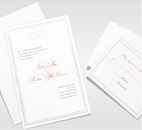 Gartner studios wedding invitations cards ephemera for Gartner labels templates