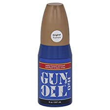 Gun Oil H2O Lubricant, Water-Based, 8 oz (237 ml)