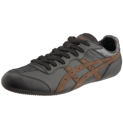 Asics Sportstyle Men's Whizzer Lo Trainer Black/Brown perf HY4299065 6UK