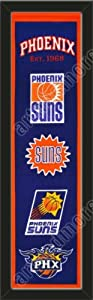 Heritage Banner Of Phoenix Suns-Framed Awesome & Beautiful-Must For A... by Art and More, Davenport, IA