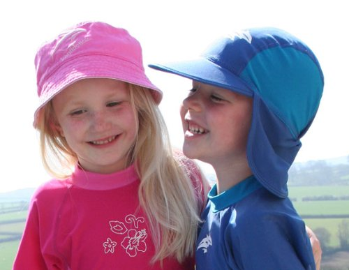 Konfidence Bucket Sun Hat - Pink/Dark Pink - Child (up to 10 yrs)