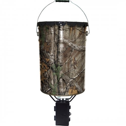 Wildgame Innovations Quick Set 50# Bucket Feeder W/Photo Cell Timer / W50P / front-889078