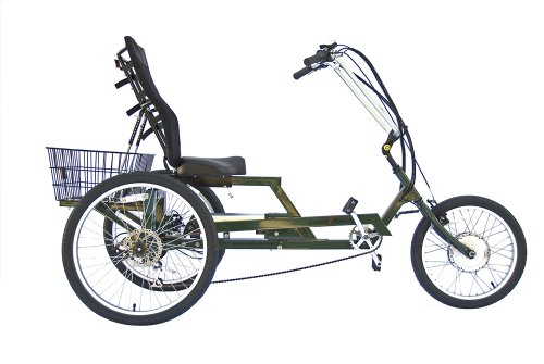 Explorer Electric Adult Tricycle