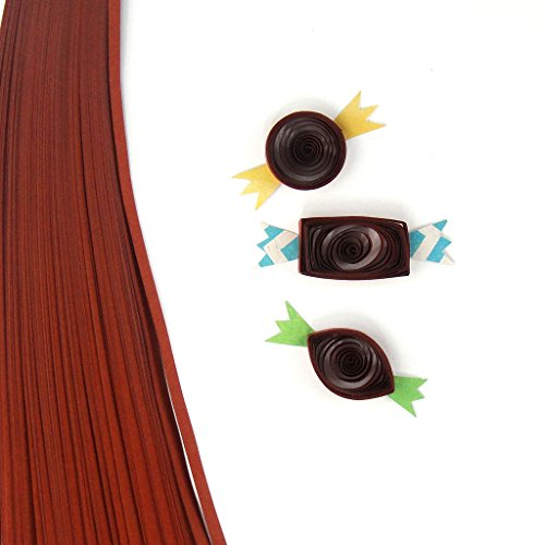 Quill On Quill On Quilling Paper, Brown