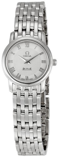 Omega Women's 4570.33 DeVille Silver Dial Watch