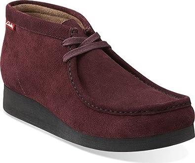 Clarks Stinson HI Men's Boots Bargundy 26104373 (7.5 D(M) US)